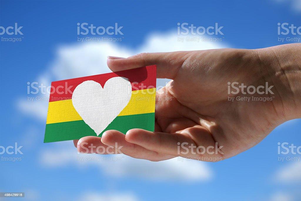 Love for reggae stock photo