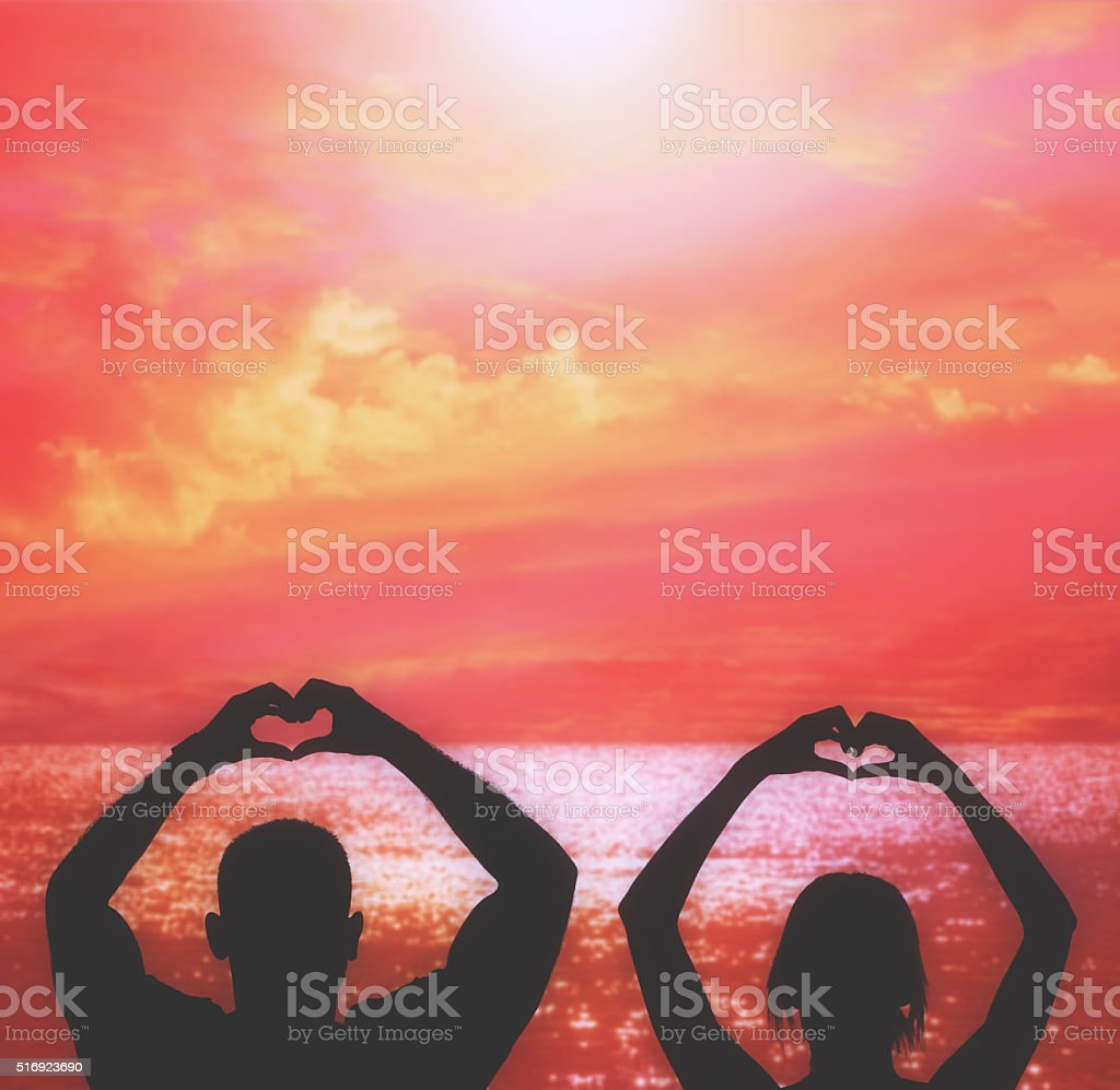 Love for the sun. stock photo