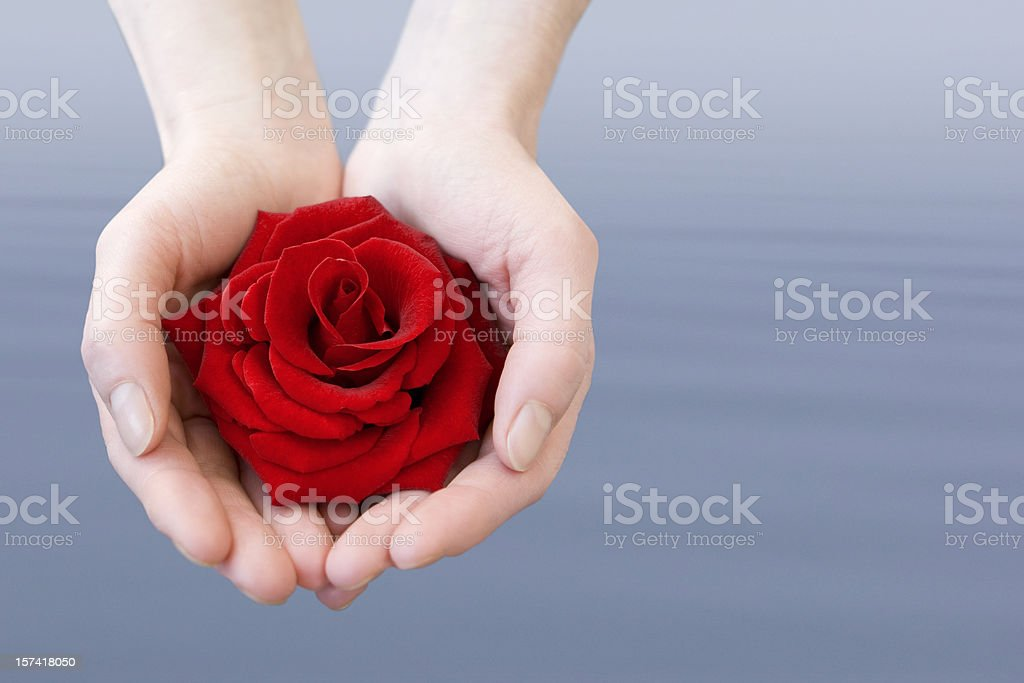 Love from overseas royalty-free stock photo