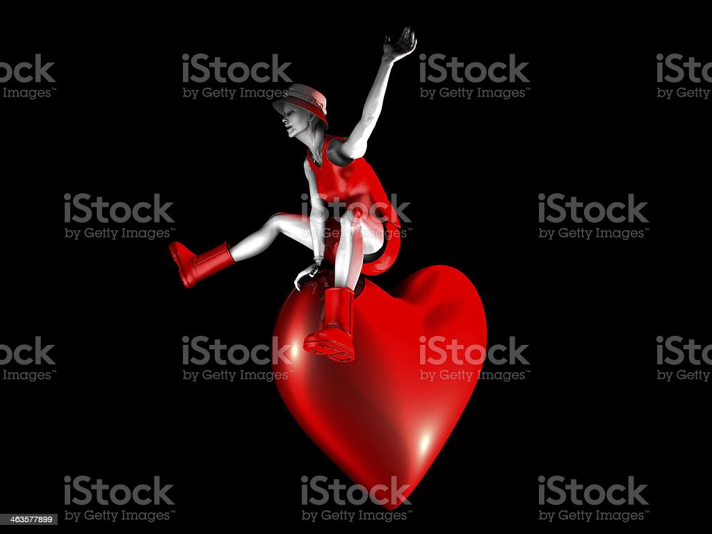 Love Game royalty-free stock photo