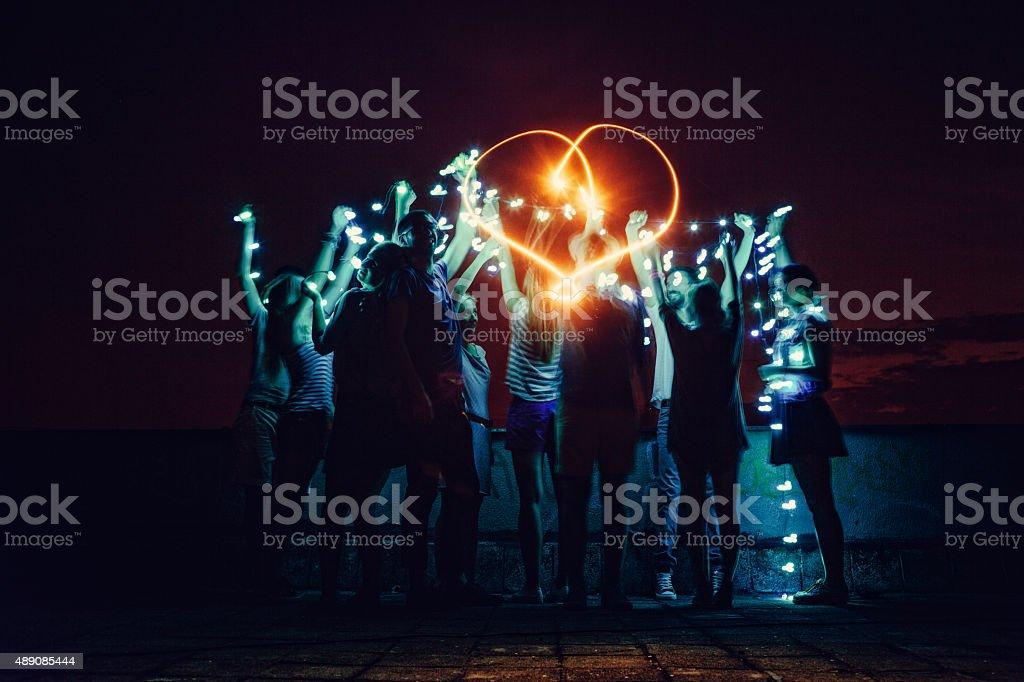 Love generation! stock photo