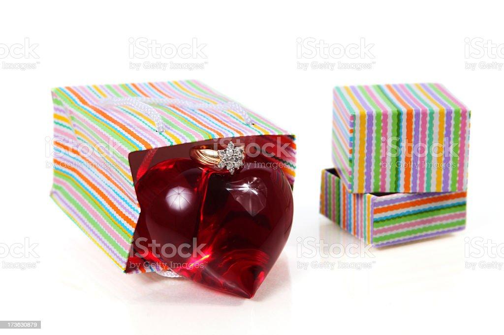 Love gift stock photo