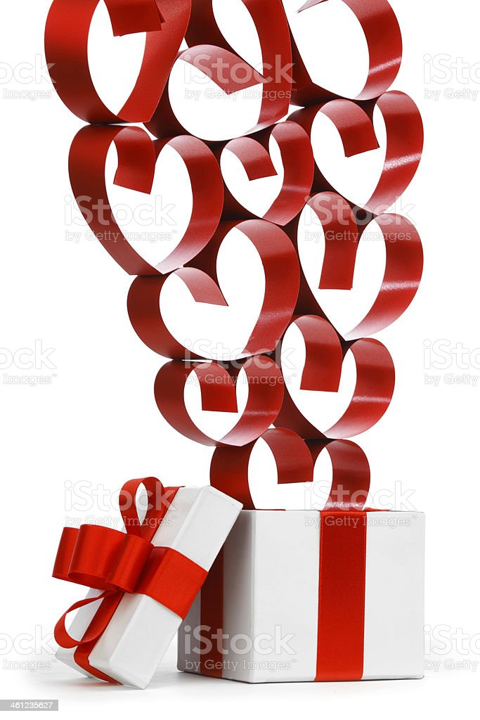 Love gifts royalty-free stock photo