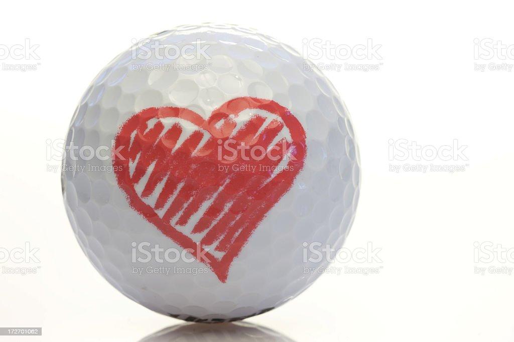 I love golf royalty-free stock photo