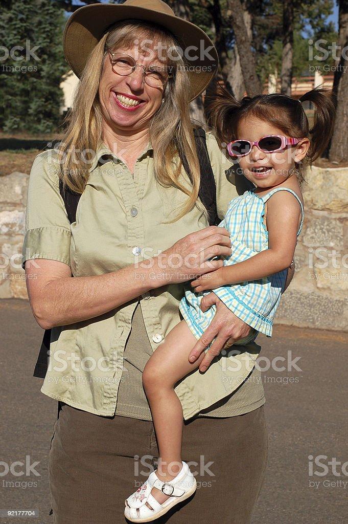 I Love Grandma royalty-free stock photo
