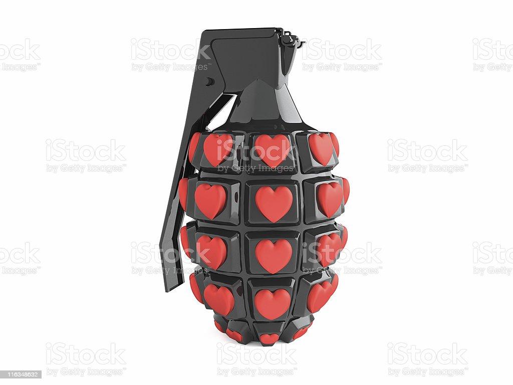 love grenade stock photo
