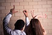 Love hand gesture.
