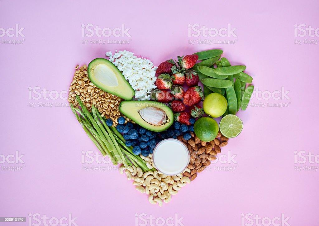 I love healthy food! stock photo