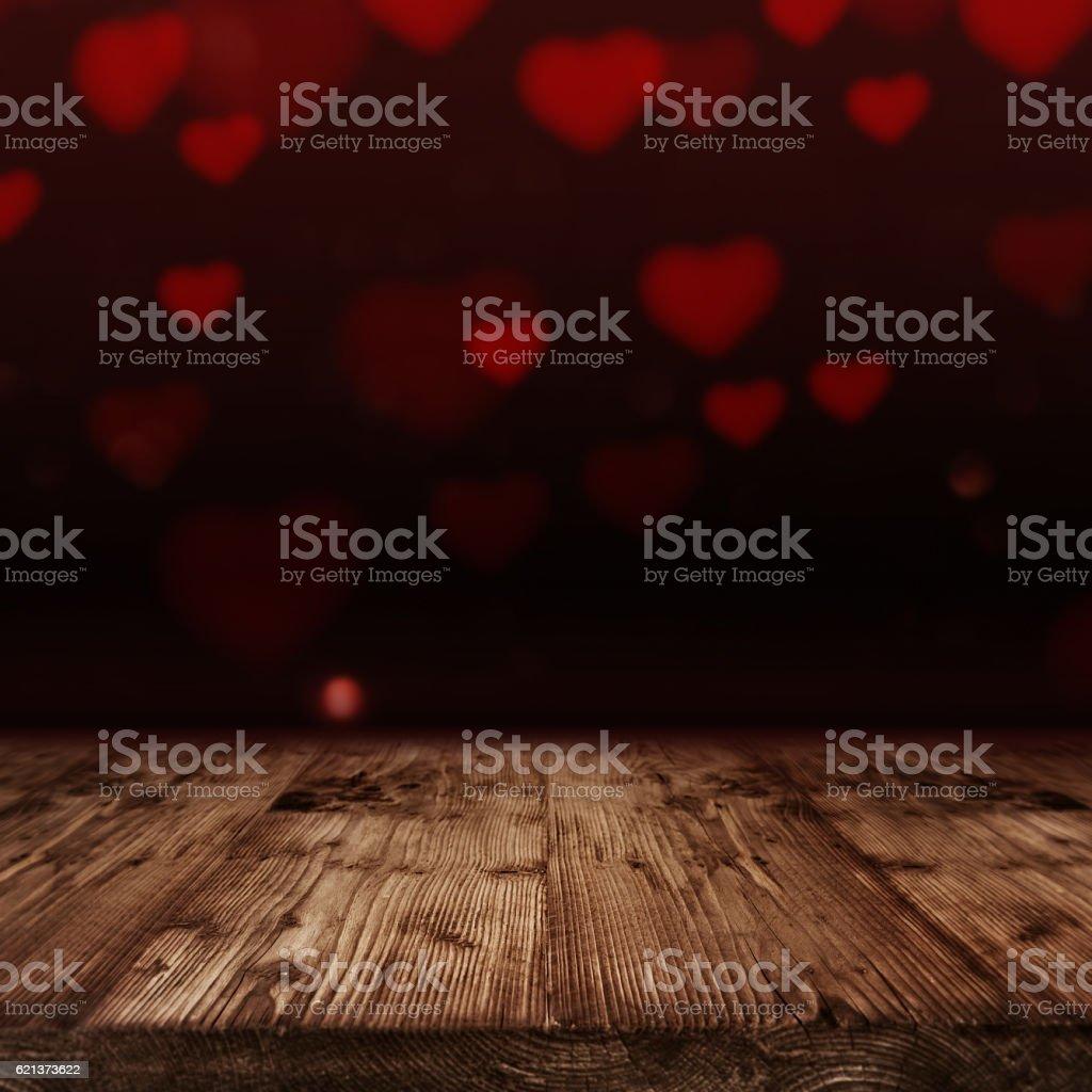 Love heart background stock photo