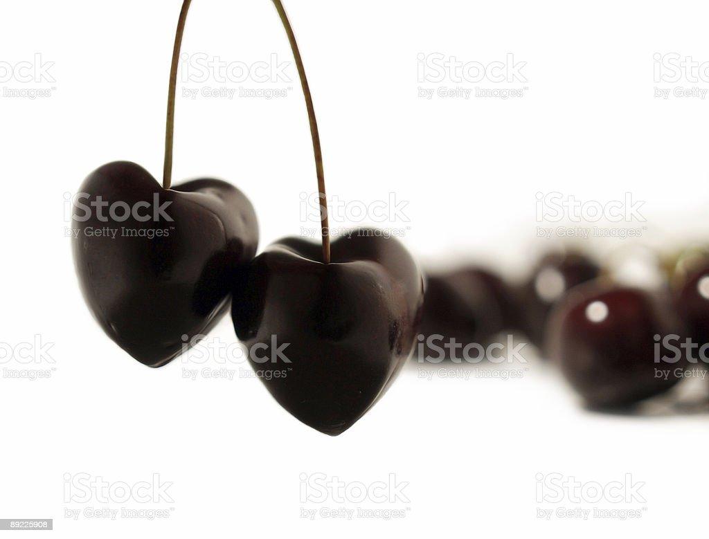 love - heart cherry royalty-free stock photo