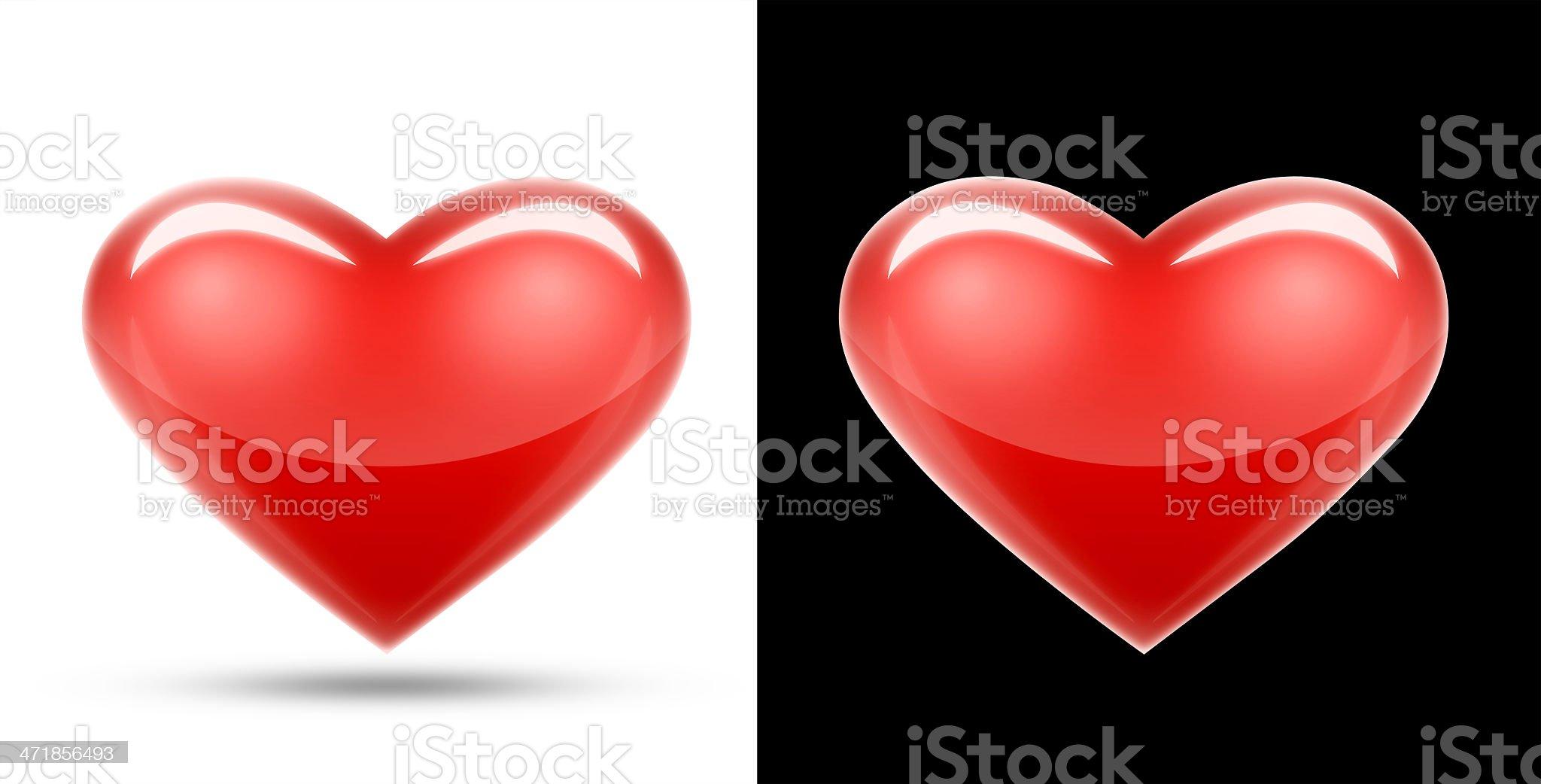 Love Heart royalty-free stock photo