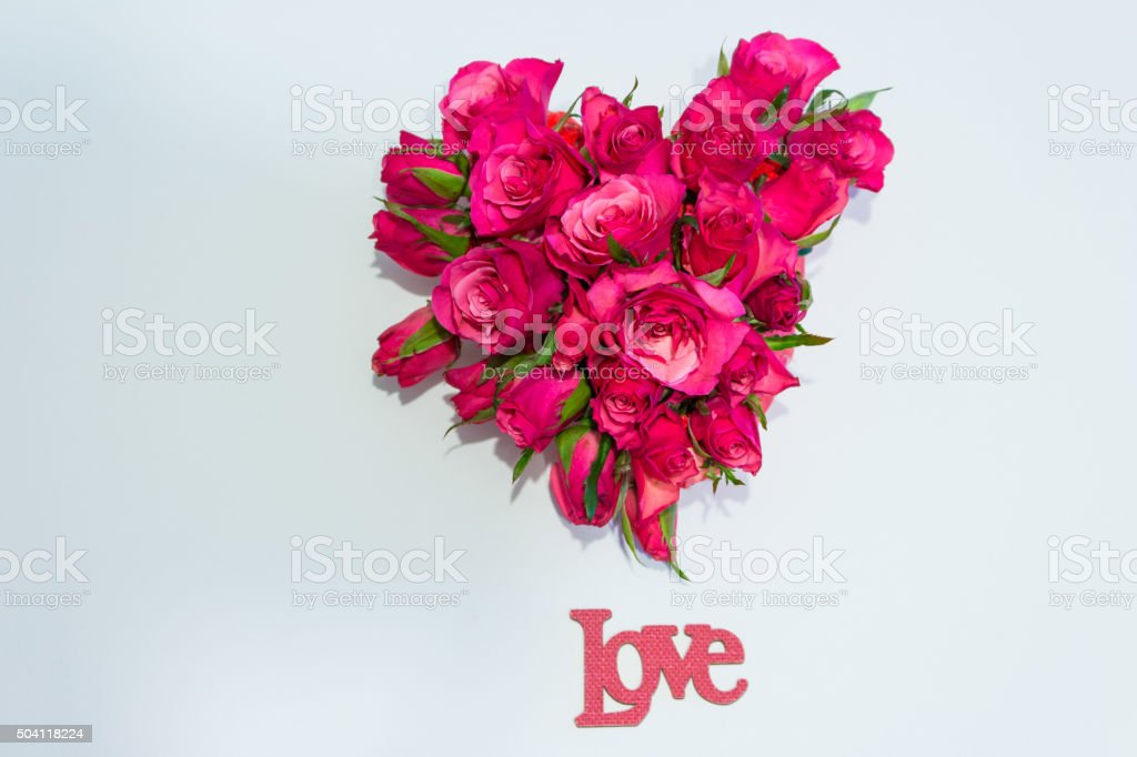 Love heart stock photo