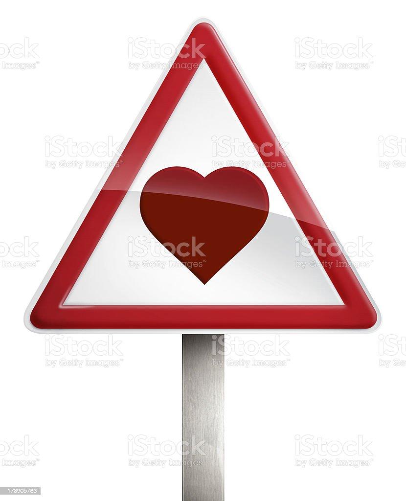Love Heart Sign II stock photo