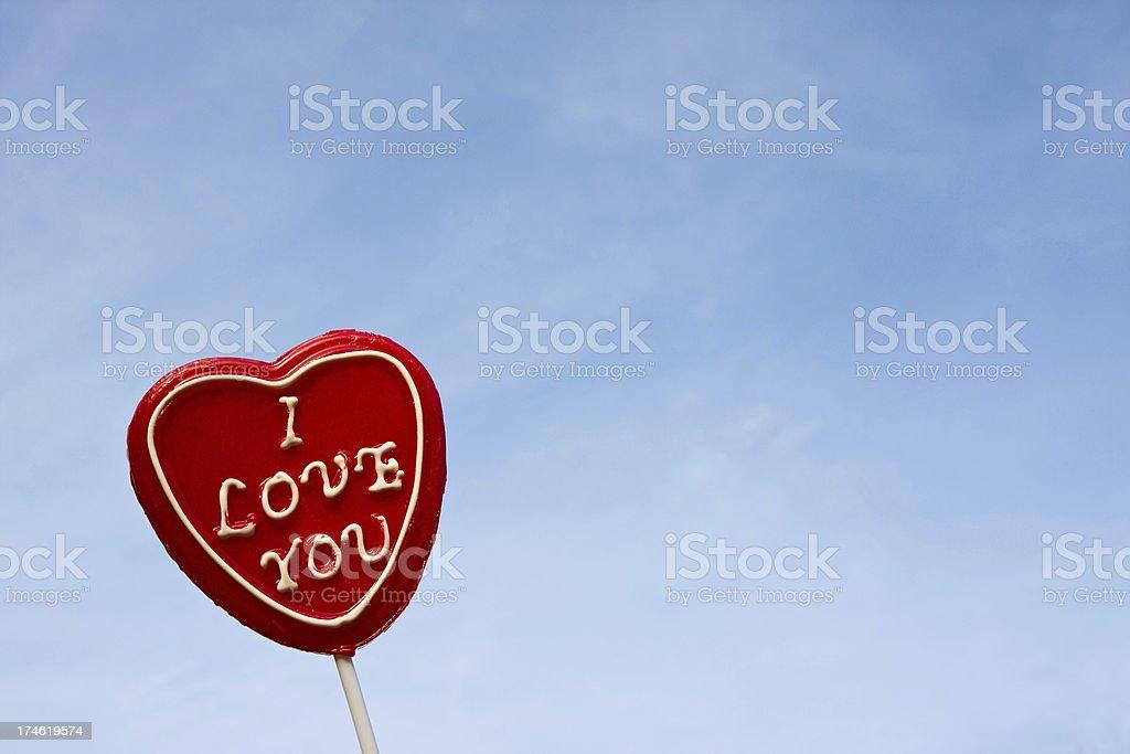 Love heart # 5 XL royalty-free stock photo
