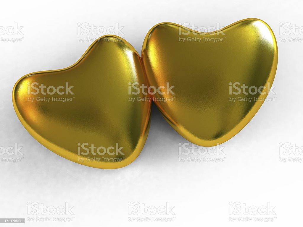 Love Hearts royalty-free stock photo