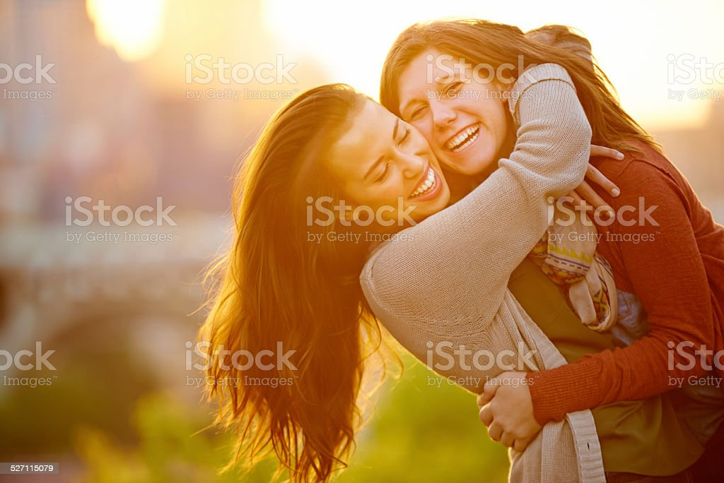 I love her so much stock photo