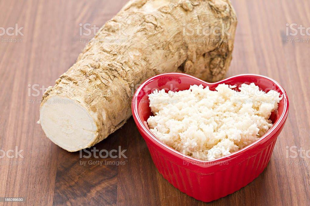 I Love Horseradish stock photo