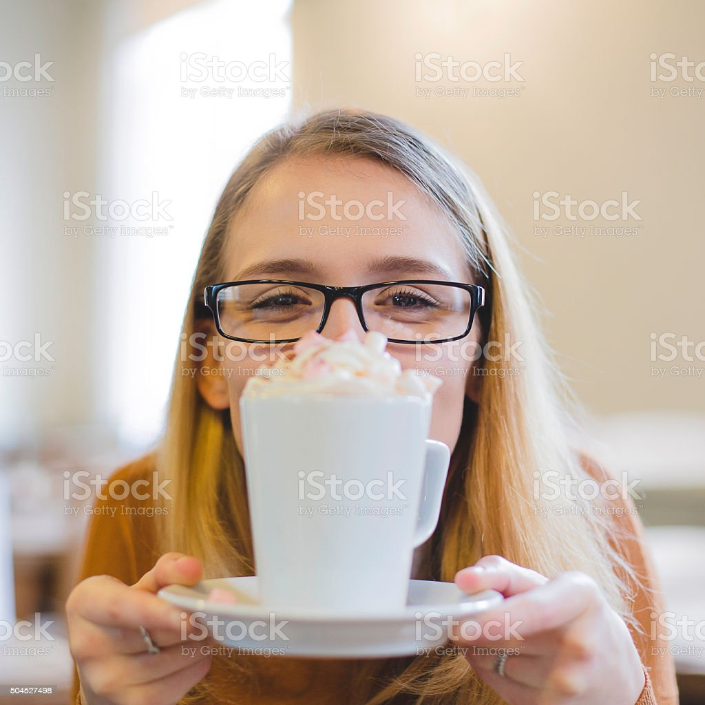 I love Hot Chocolate stock photo