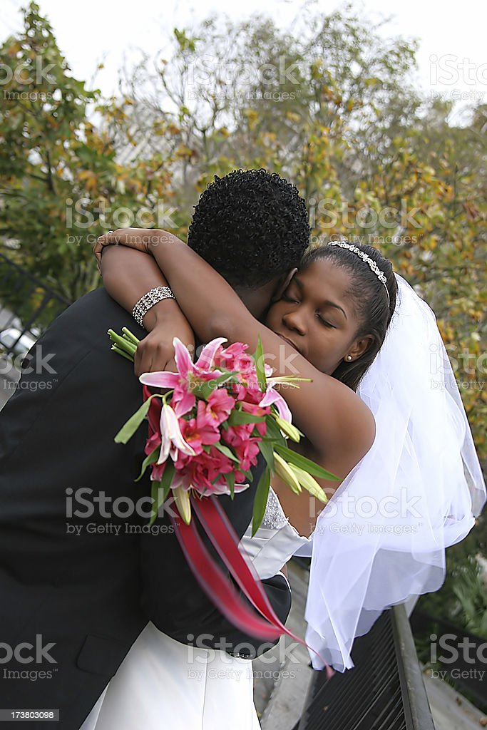 Love hug royalty-free stock photo