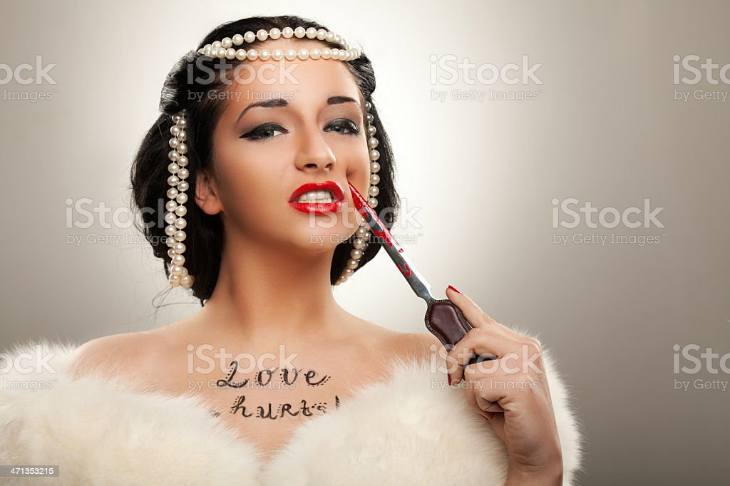 Love hurts royalty-free stock photo