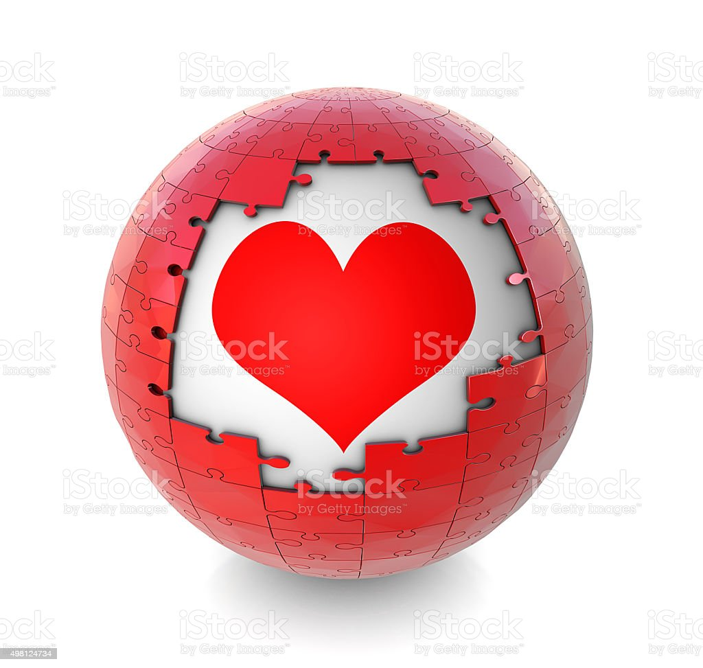 Love Icon stock photo