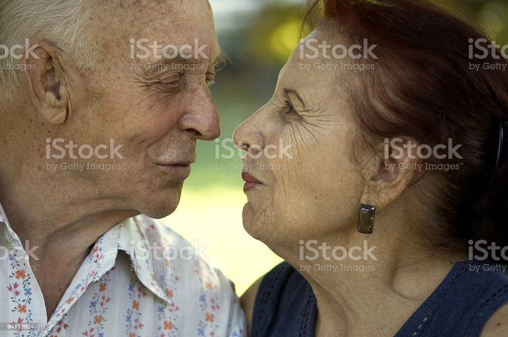 love in any age stock photo