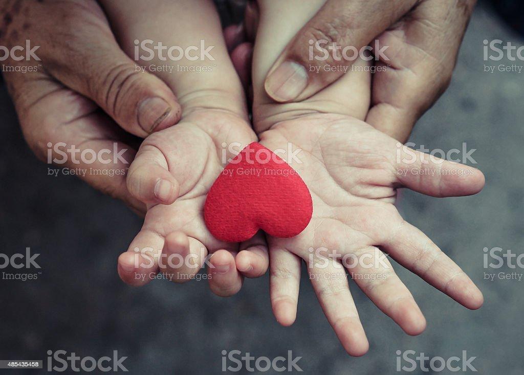 Love in family stock photo