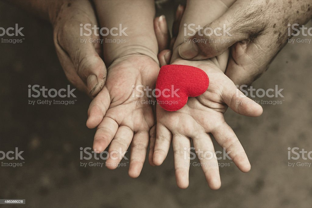 Love in family stock photo