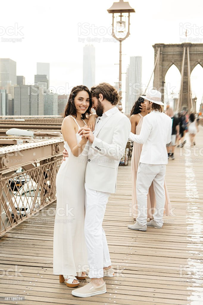 Love in New York stock photo