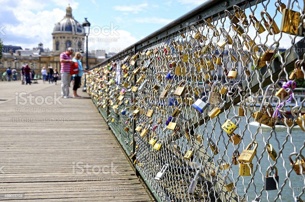 Love in Paris stock photo