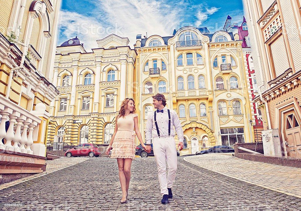 Love in Podol stock photo