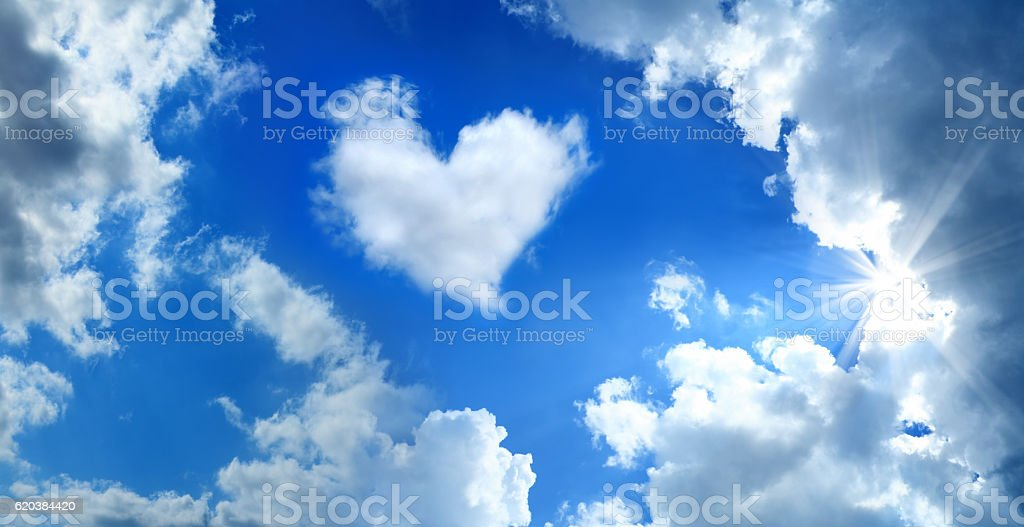 love in the air stock photo