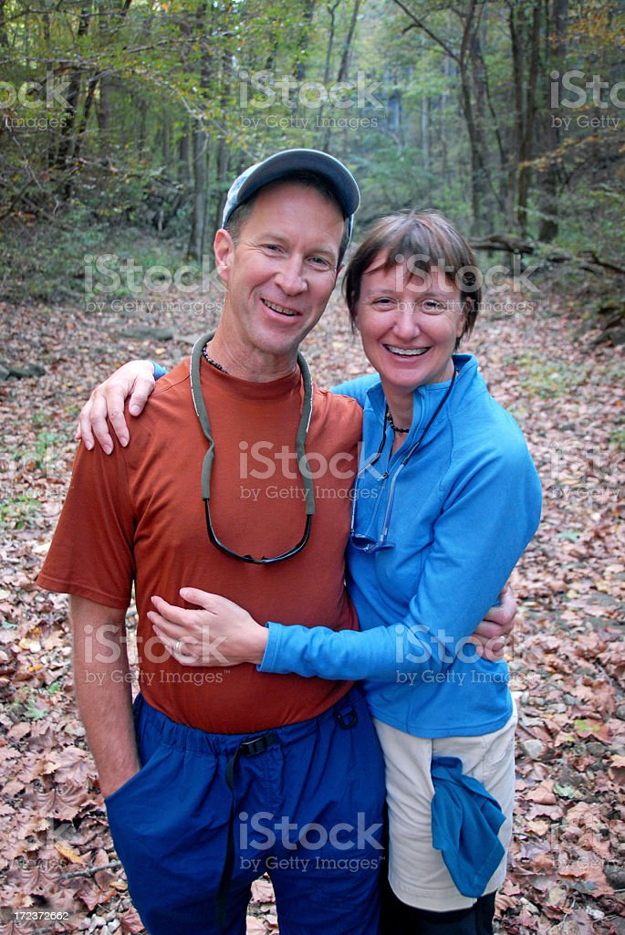 Love in the Great Outdoors royalty-free stock photo