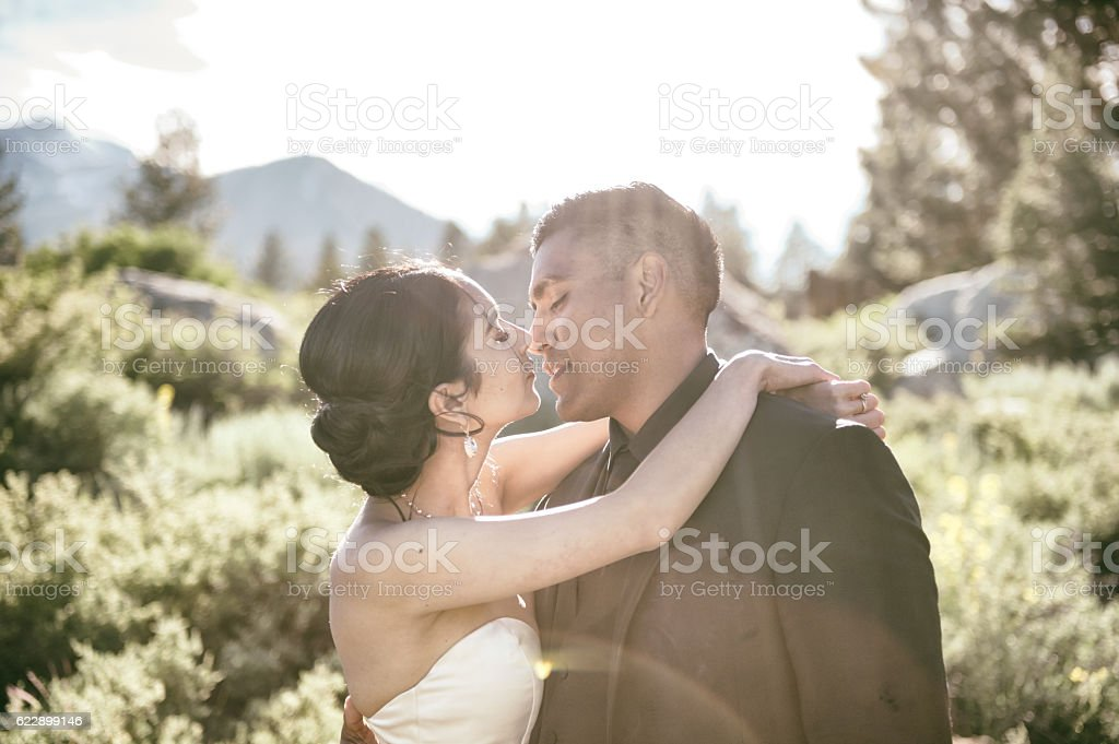 Love in the Mountains stock photo