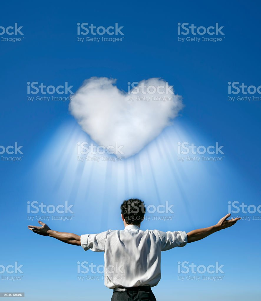 Love Is All Around stock photo