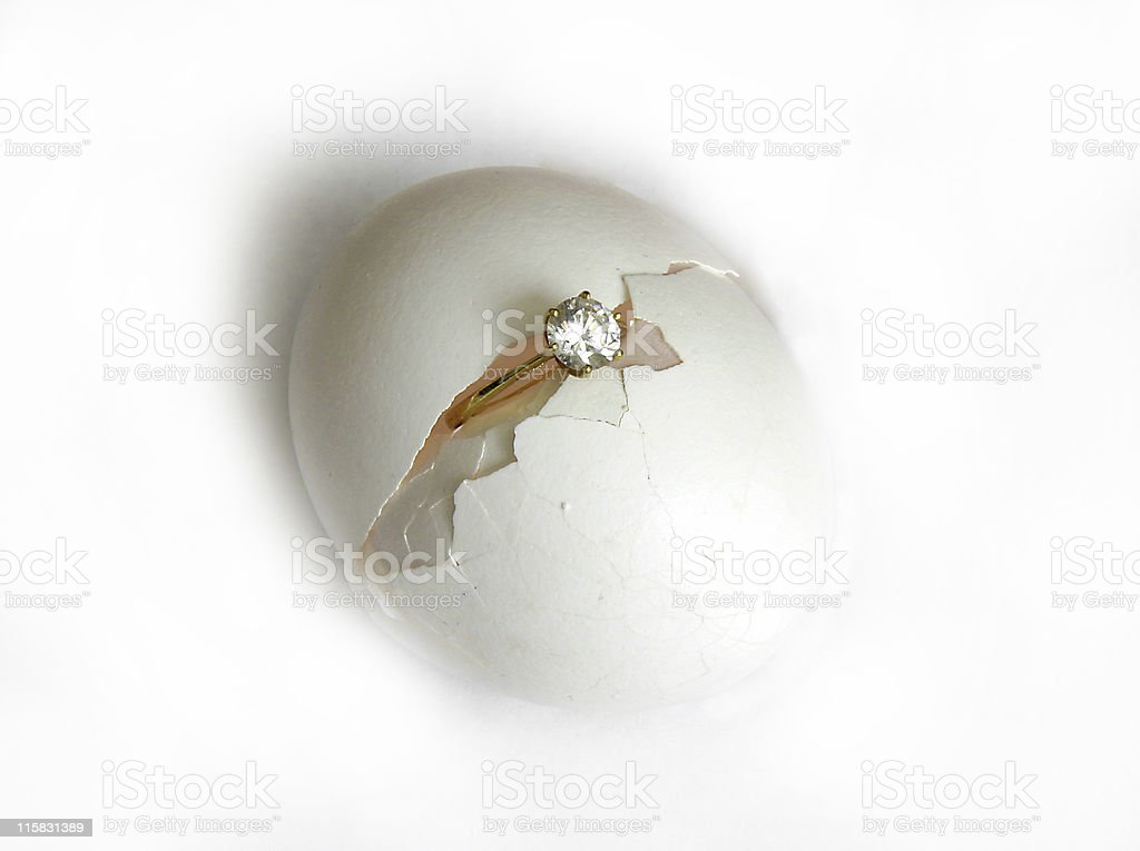 Love is born royalty-free stock photo
