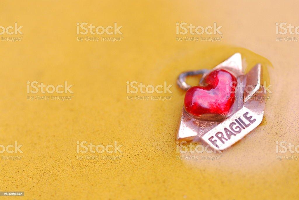 Love is Fragile stock photo