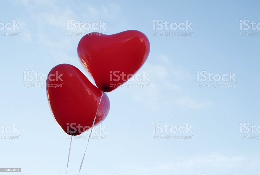 Love is in the Air 01 royalty-free stock photo