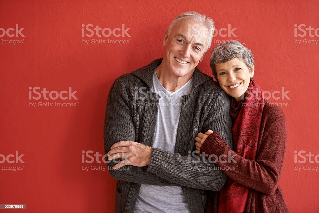 Love is longevity stock photo