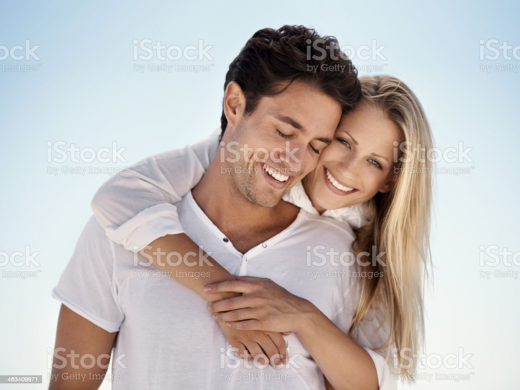 Love is... stock photo