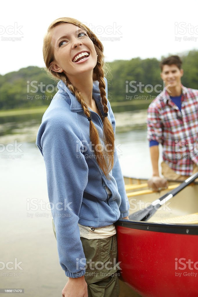 I love it out here royalty-free stock photo
