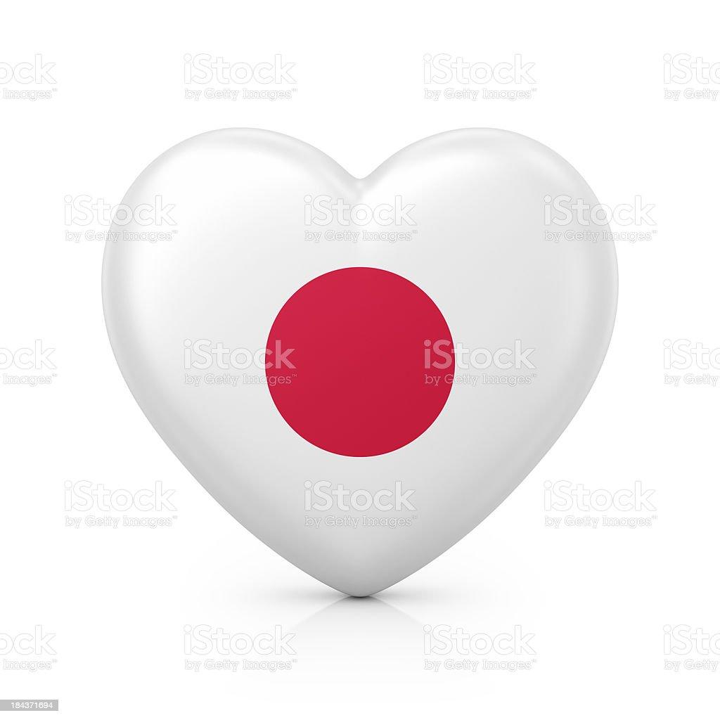 I love Japan stock photo