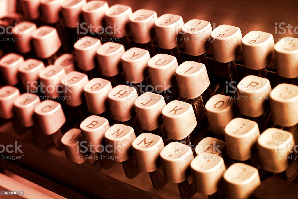 Love Keys Tinted royalty-free stock photo