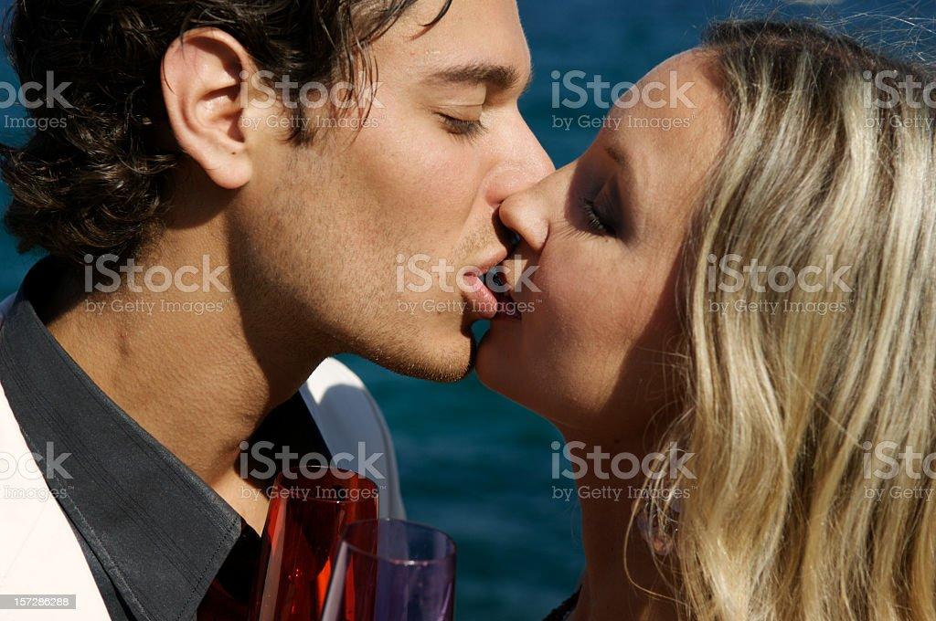 Love - Kiss royalty-free stock photo