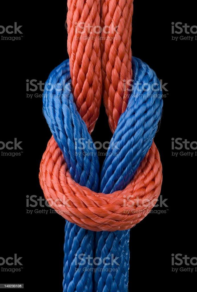 Love knot royalty-free stock photo
