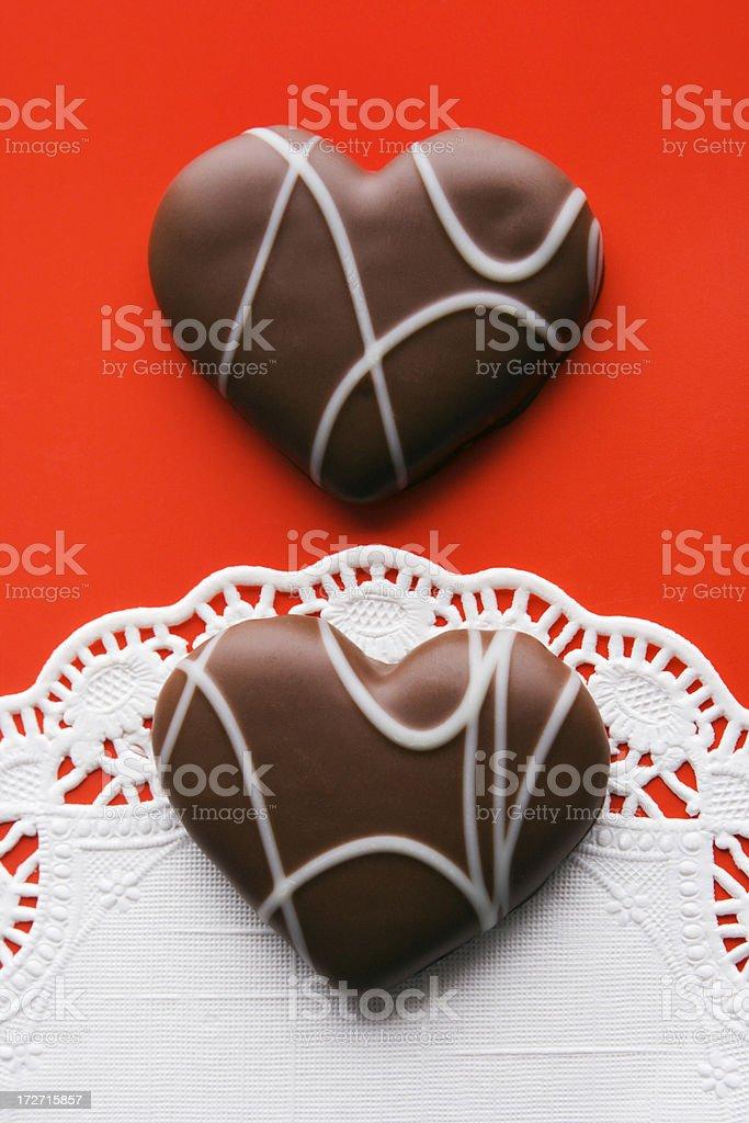 Love & Lace Valentine stock photo