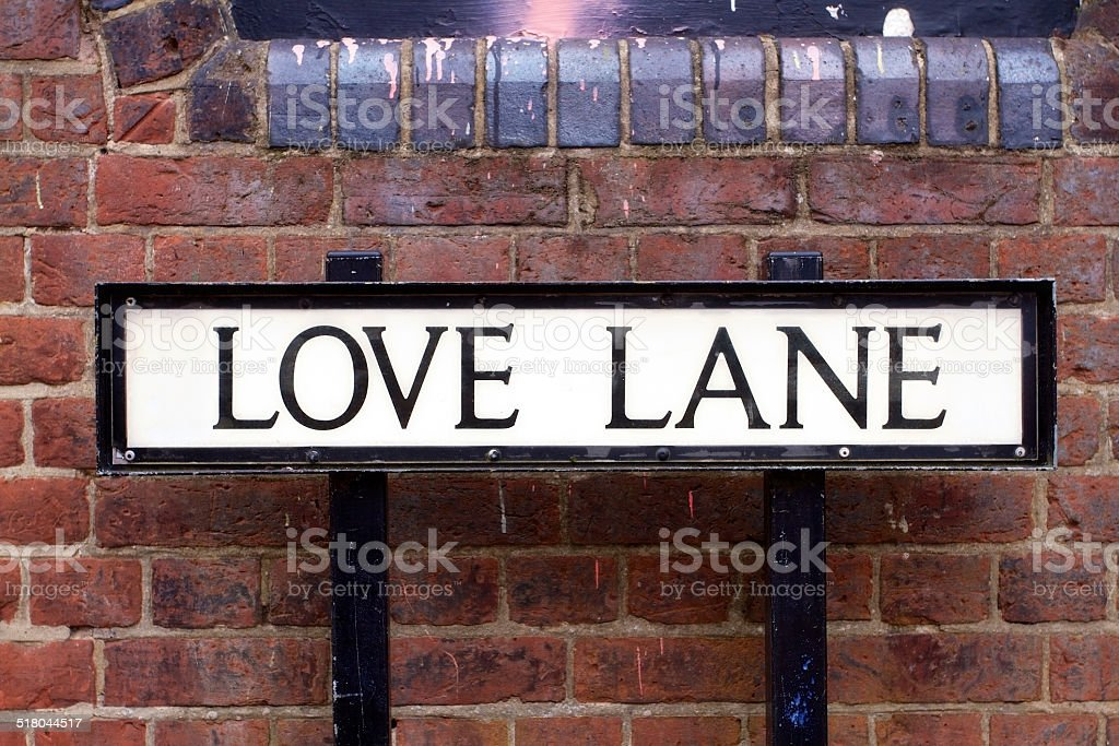 Love Lane Street Sign stock photo