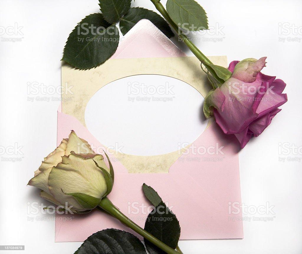 love letter concept stock photo