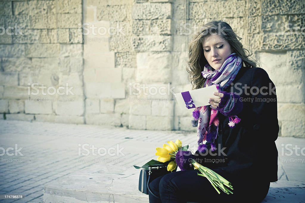 Love Letter For You royalty-free stock photo