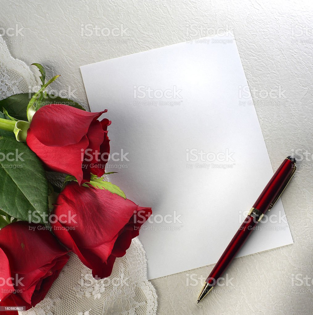 Love Letter royalty-free stock photo